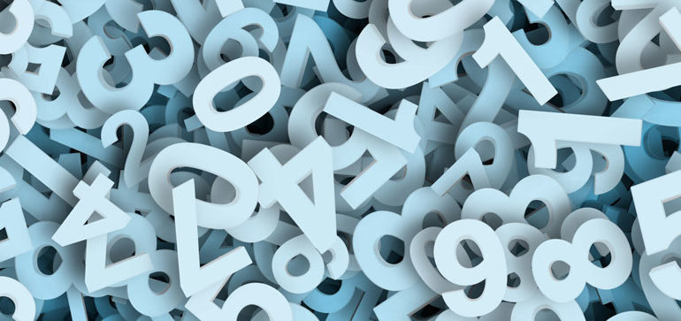 array di numeri positivi