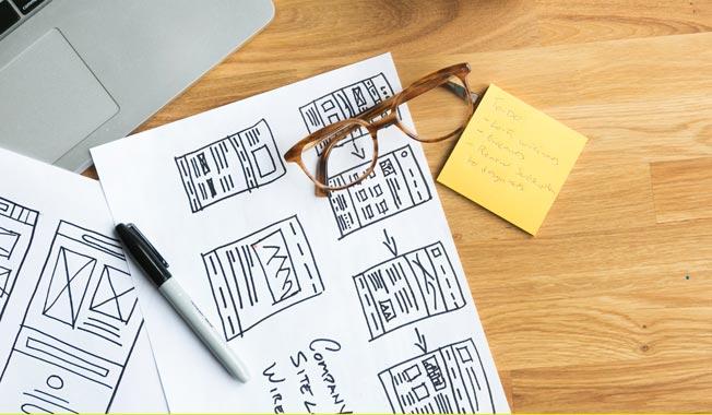 storyboard sito web