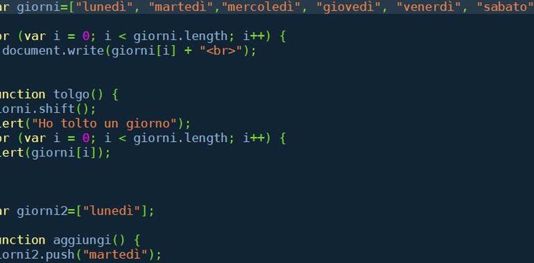 array javascript