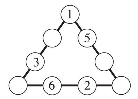 Gioco matematico triangoli