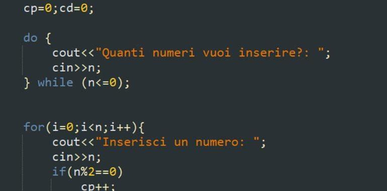 iterazioni in C++