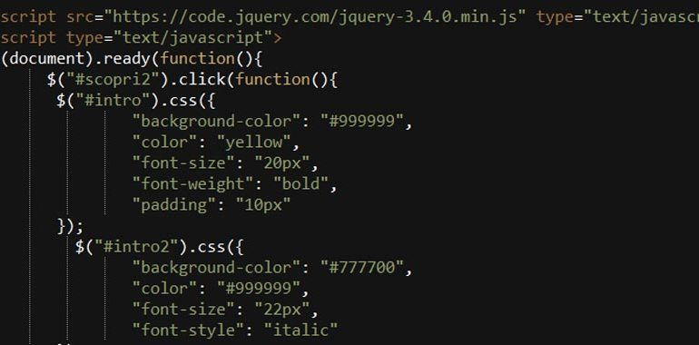 jQuery css()