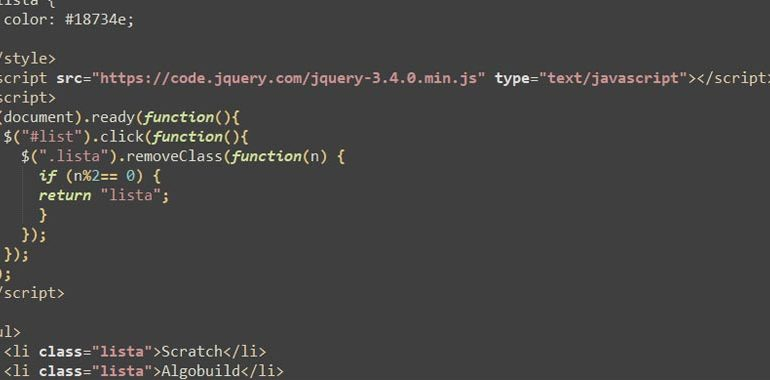 JQuery removeClass()