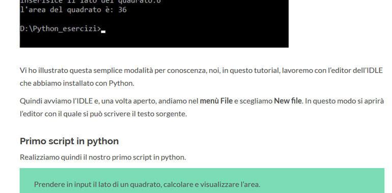 script in python