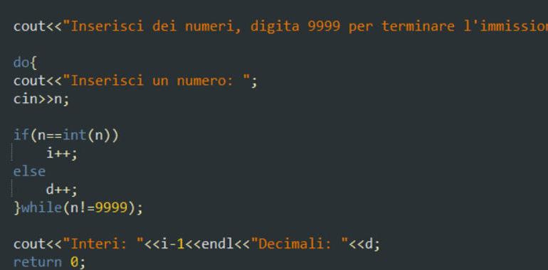Esercitazione sul while e do-while in C++