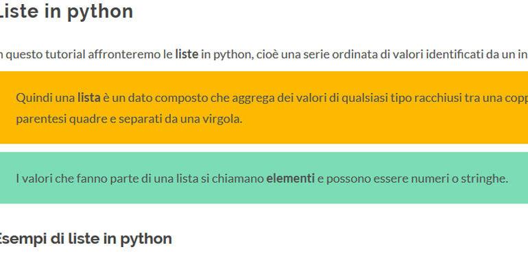 liste in python