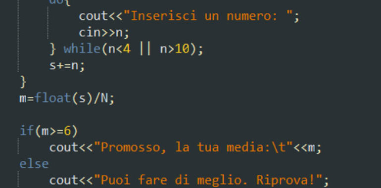 Altri esempi sul for in C++