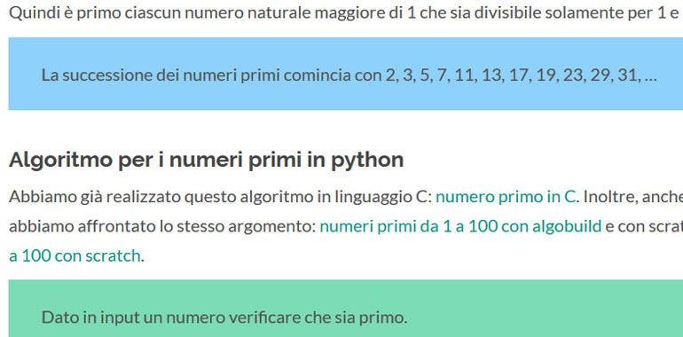 numeri primi in python