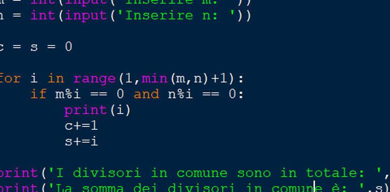 Esempi Python