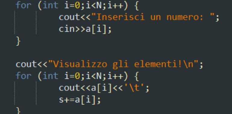 I vettori in C++