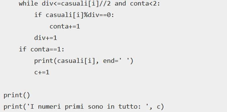 Python esercizi