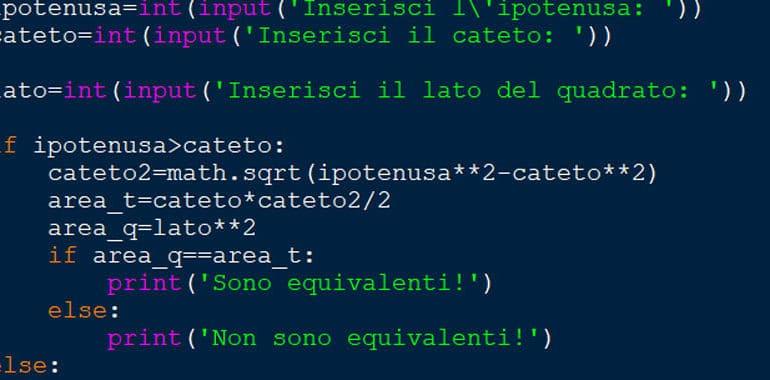 Esercizi Python