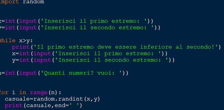 Random Python