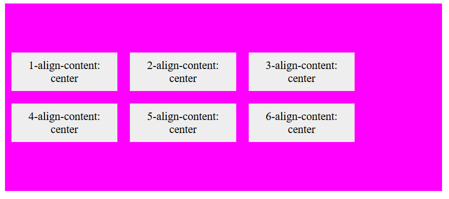 align contente center