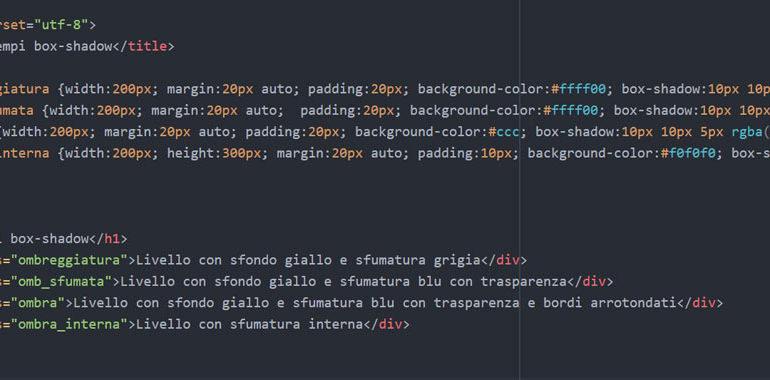 Box shadow CSS