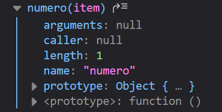 funzione oggetto