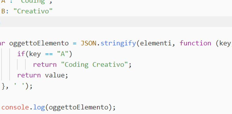 json stringify