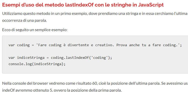 lastIndexOf in JavaScript