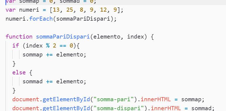 forEach JavaScript