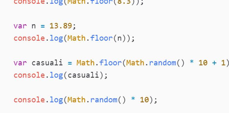 Math floor JavaScript