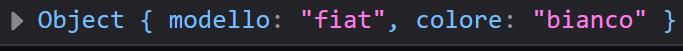 oggetto javascript