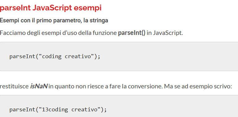 parseint javascript
