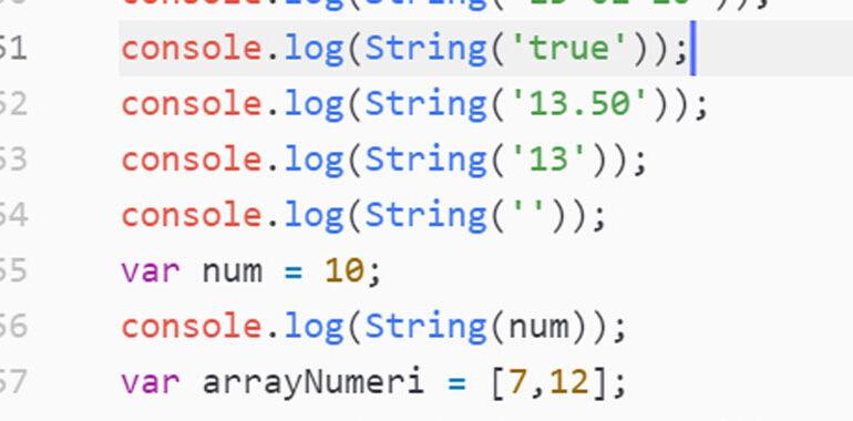 String JavaScript